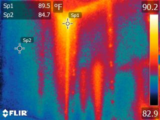 Infrared of energy loss #2